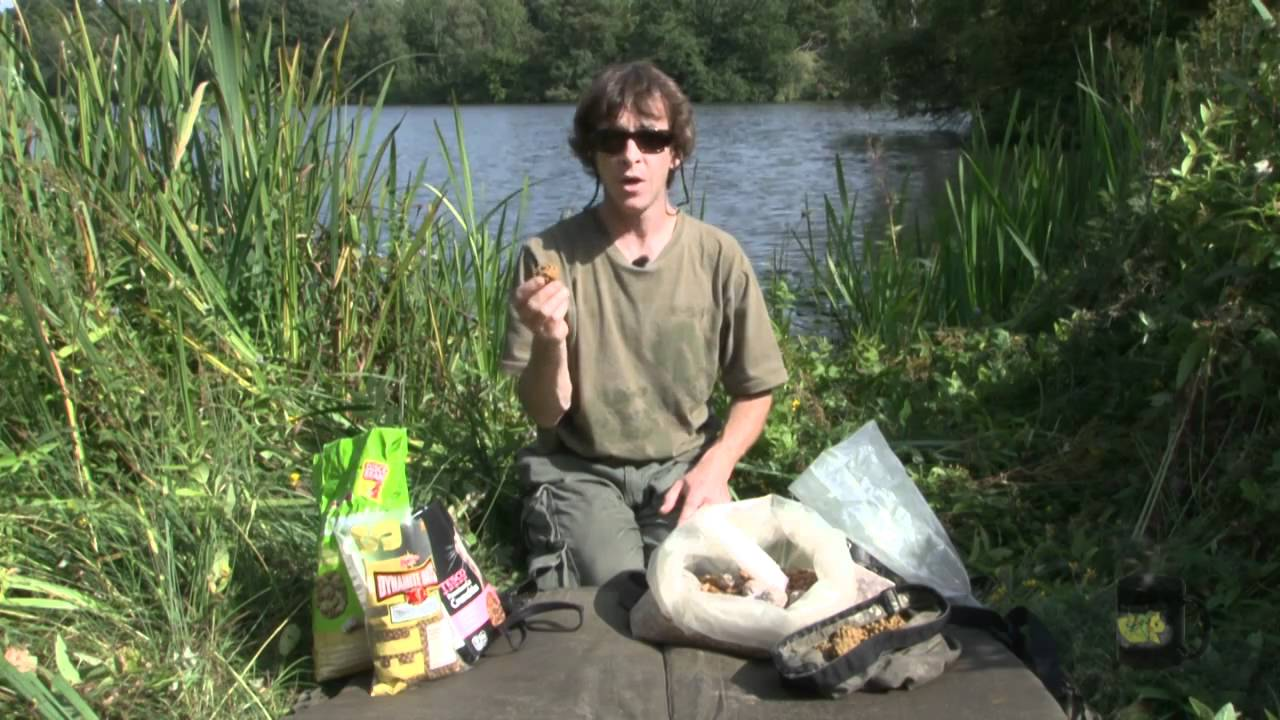 Terry Hearn: Floater Fishing for Carp - Baiting