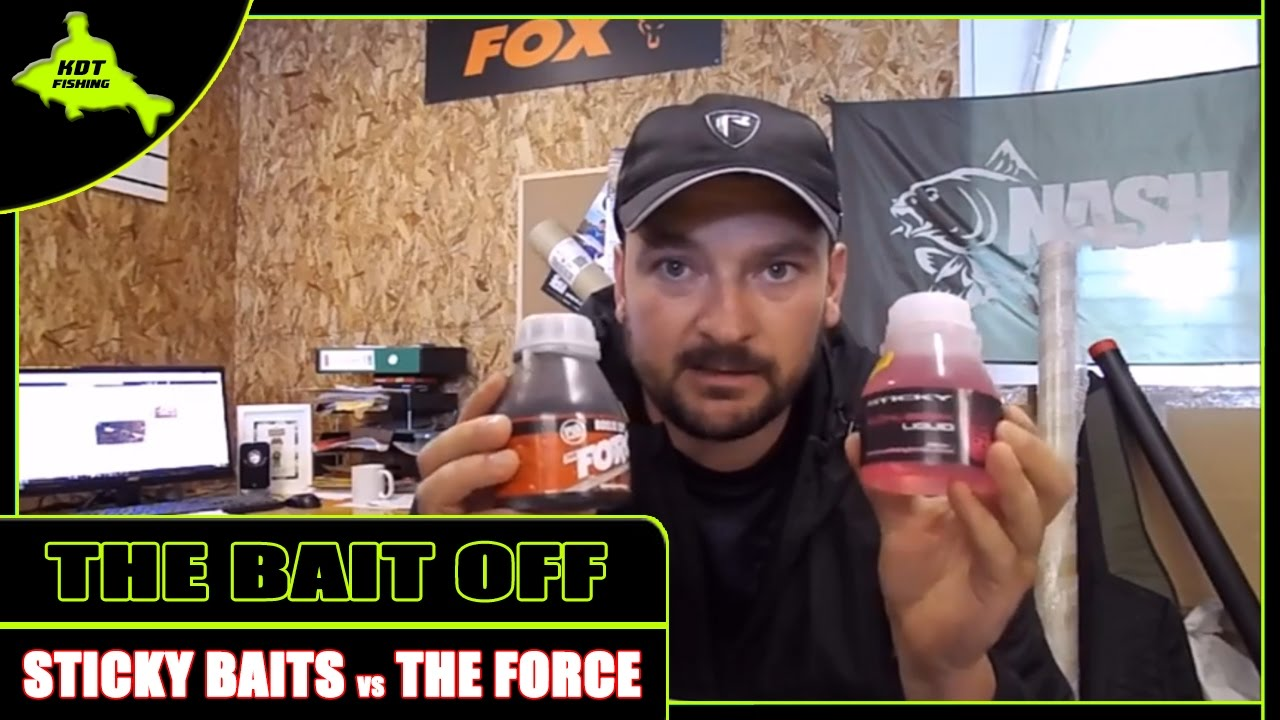 Bait Off - Episode #2 - THE FORCE VS STICKY BAITS BUCHU-BERRY