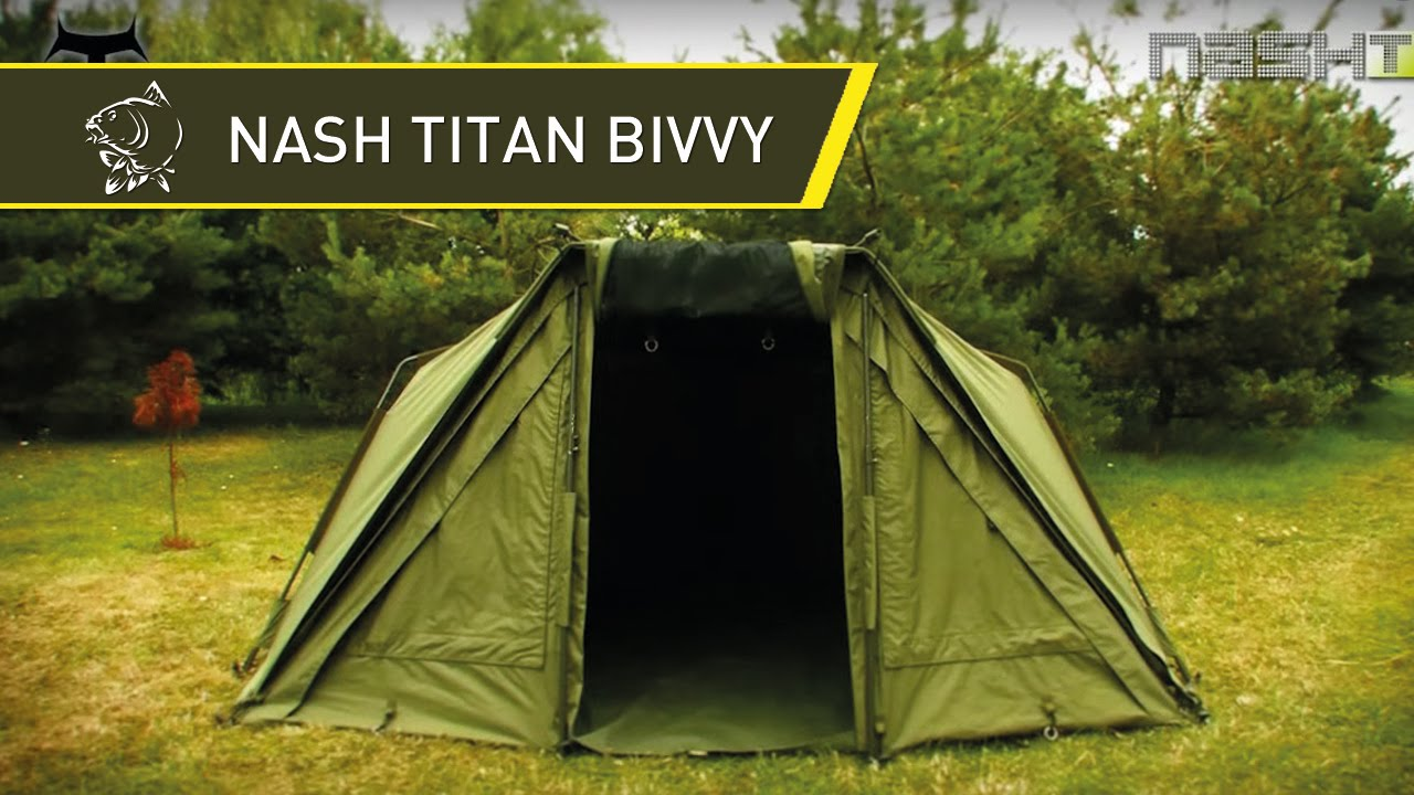 NASH TV - NEW NASH TITAN BIVVY - THE LEGEND IS BACK! - THE ULTIMATE CARP FISHING BIVVY IN HD