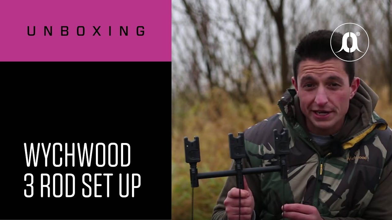 CARPologyTV - Wychwood 3 Rod Set-up Unboxing Review