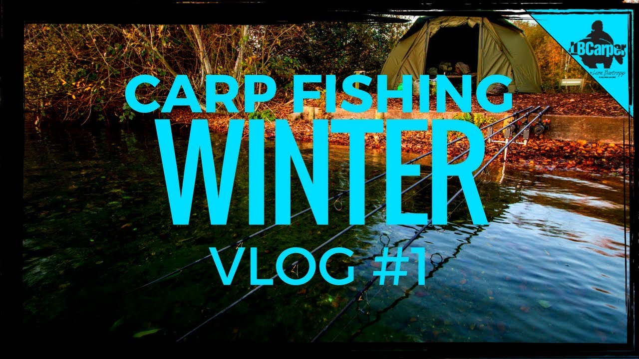 CARP FISHING IN WINTER THE CAMPAIGN BEGINS VLOG #1 😀