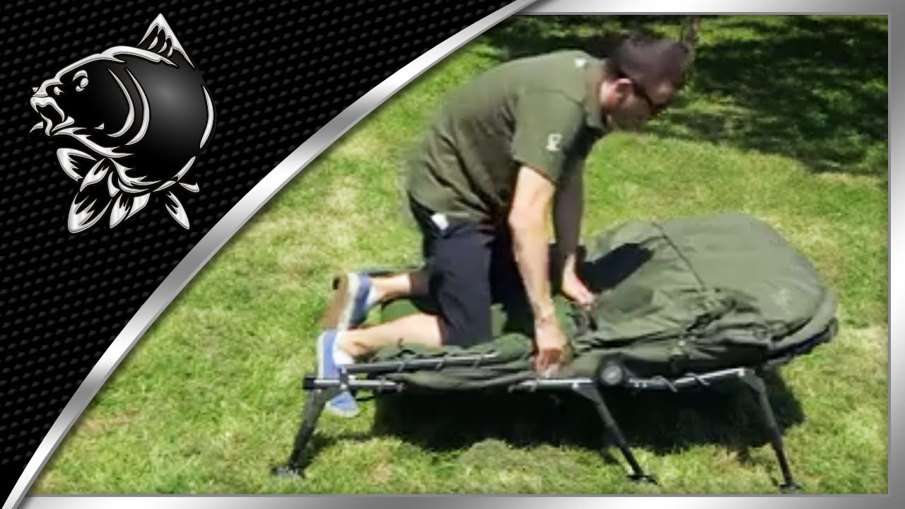 CARP FISHING CAN YOU FOLD UP A NASH INDULGENCE SLEEP SYSTEM WITH ALL THE LAYERS ON? NASH TACKLE FAQ