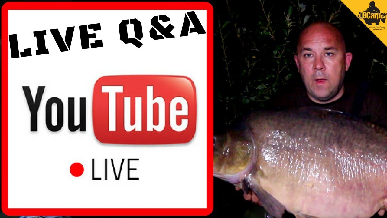 🔴  CARP FISHING TIPS AND TECHNIQUES LIVE Q&A TO HELP YOU CATCH MORE FISH 😀