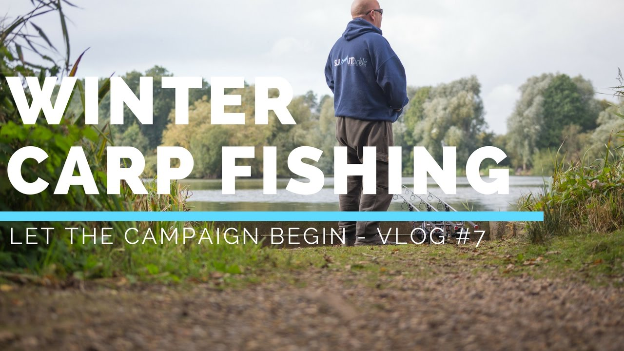CARP FISHING IN WINTER – THE WINTER CAMPAIGN BEGINS - VLOG #7