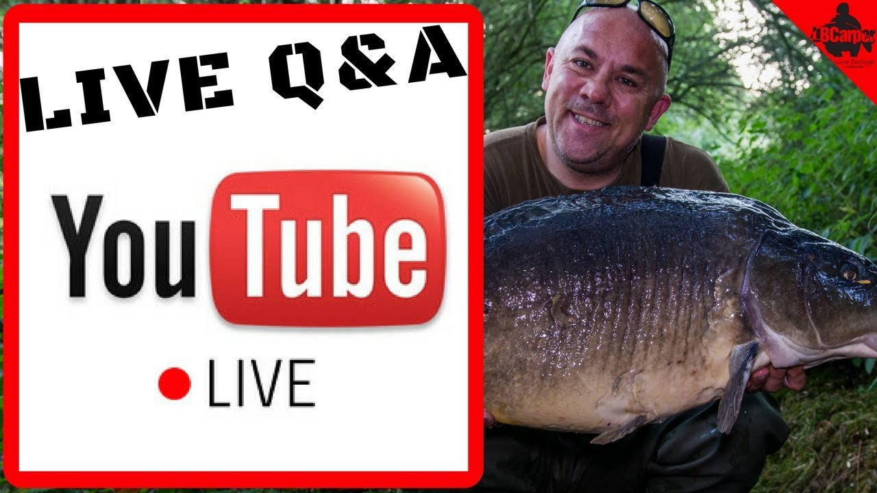 🔴  CARP FISHING TIPS AND TECHNIQUES LIVE SATURDAY Q&A  😀