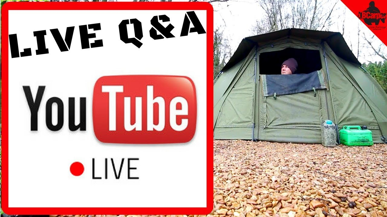🔴  CARP FISHING IN WINTER - WEDNESDAY NIGHT LIVE Q&A 😀