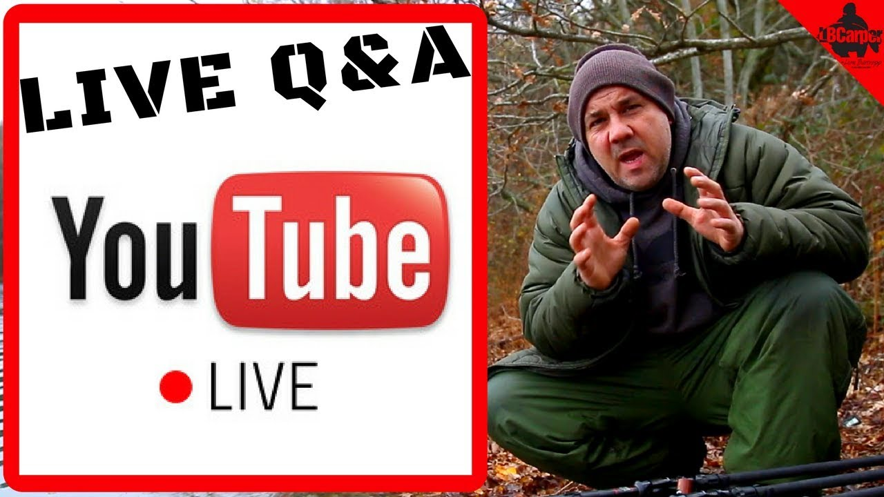 🔴  CARP FISHING IN WINTER LIVE TUESDAY NIGHT Q&A  😀