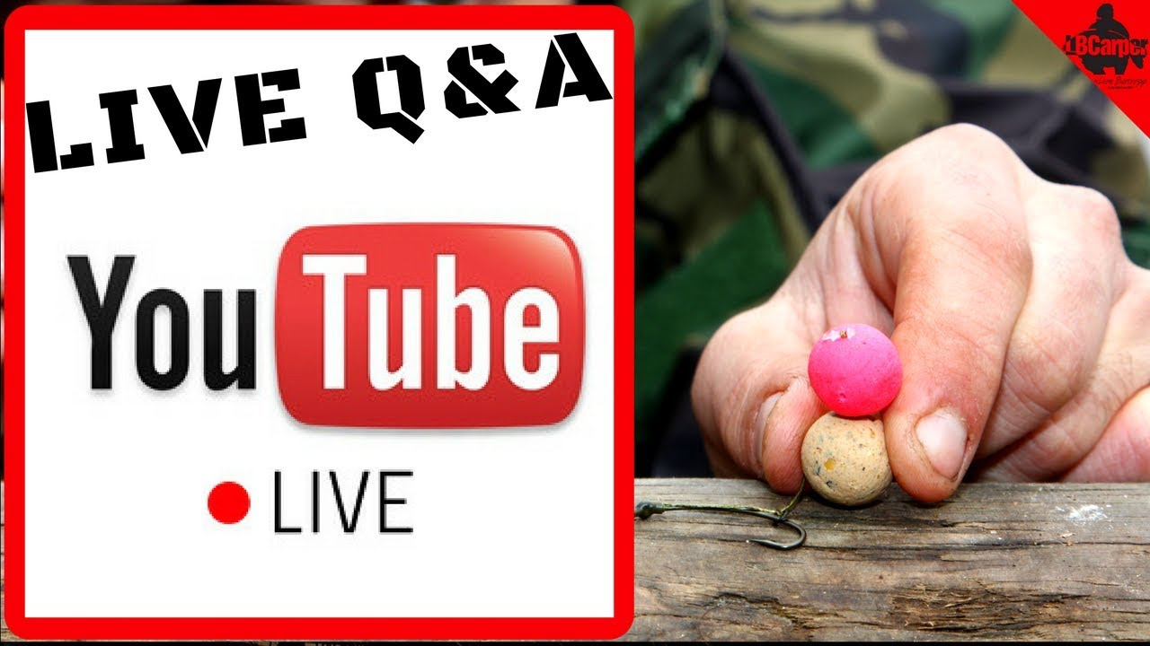 CARP FISHING IN WINTER - WEDNESDAY NIGHT LIVE Q&A! 😀