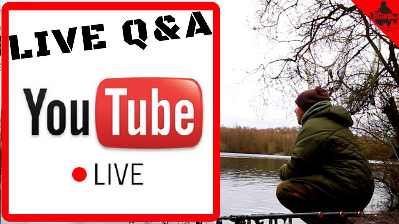 🔴  CARP FISHING IN WINTER - LIVE ON THE BANK TUESDAY NIGHT Q&A  😀