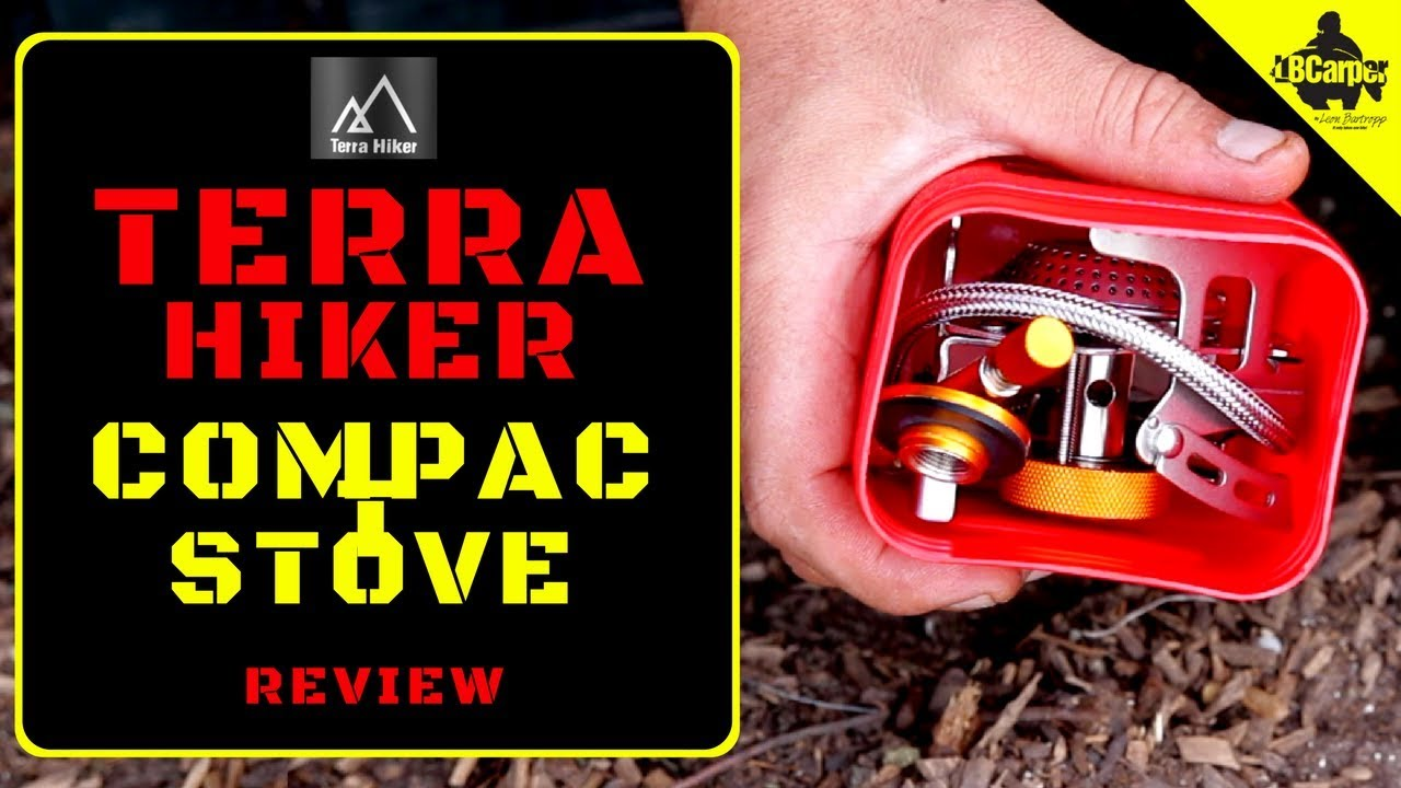 BEST OUTDOOR STOVE UNDER £20 - TERRA HIKER COMPACT STOVE REVIEW 😀
