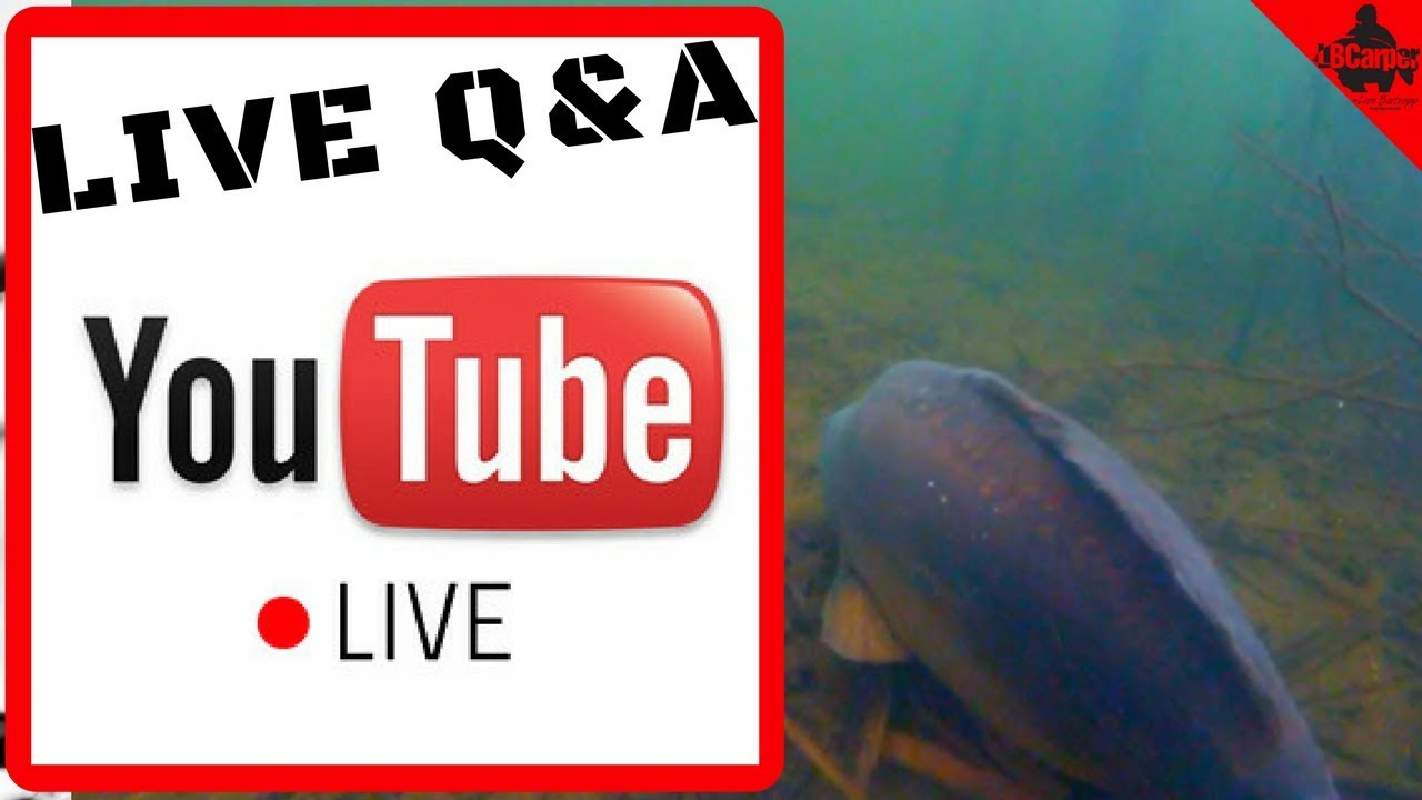 🔴 CARP FISHING IN SPRING - SUNDAY NIGHT LIVE SUBSCRIBER Q&A 😀