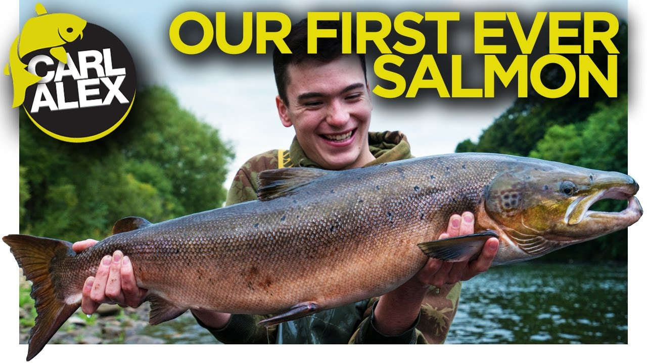 SALMON FISHING - Our First Ever Salmon!