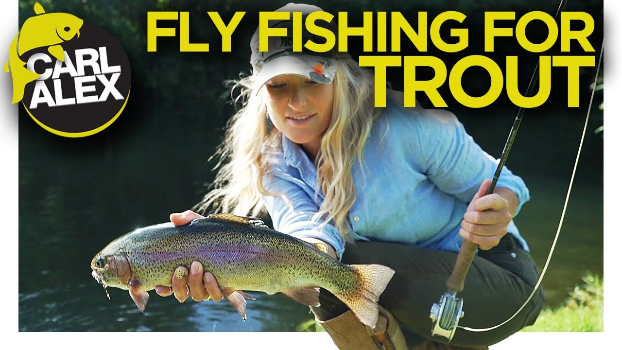 TROUT FISHING on the FLY River and Lake Trout