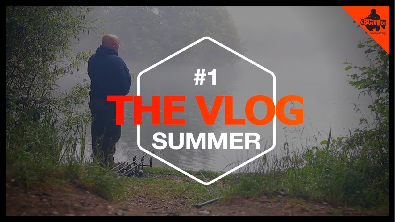 CARP FISHING IN SUMMER - VLOG #1😀