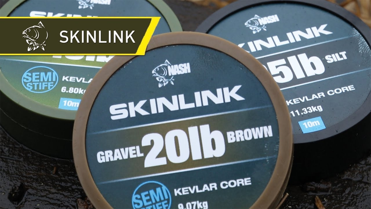 SkinLink - Nash Tackle coated braid hooklink material