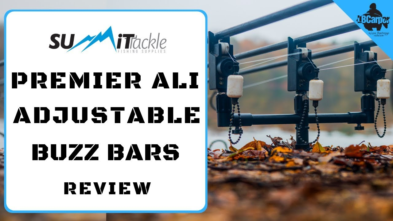 SUMMIT TACKLE PREMIER ALI ADJUSTABLE BUZZ BARS REVIEW