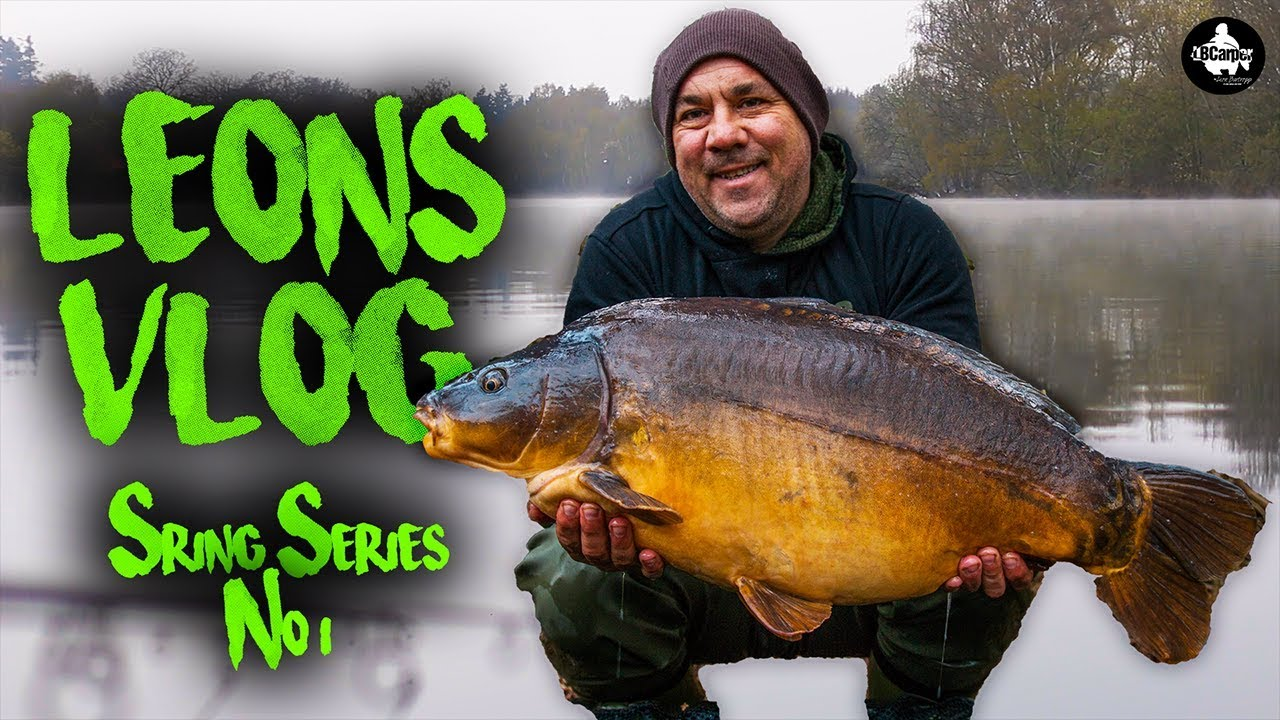 Carp Fishing In Early Spring - Fishing The Park Lake - Leon's Vlog #1