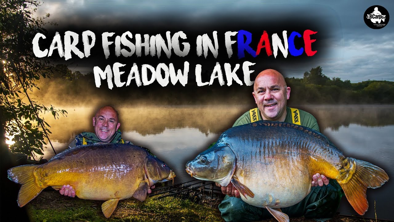 Carp Fishing In France - Meadow Lake - LÉ VLOG 3