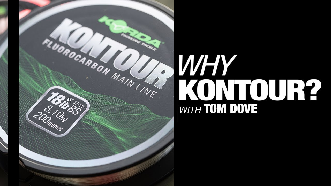 Why KONTOUR? Tom Dove reveals invisible fluorocarbon carp fishing line | Korda 2019