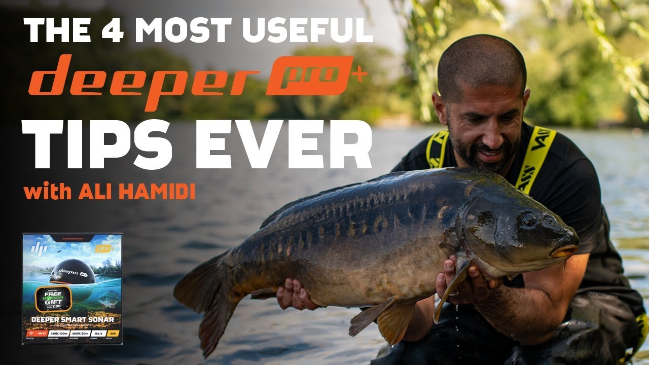 BEST EVER Deeper Pro + Carp Fishing tips with Ali Hamidi - Korda 2019